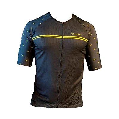 camisa ciclismo smoke com bandana  ref 1350 c58