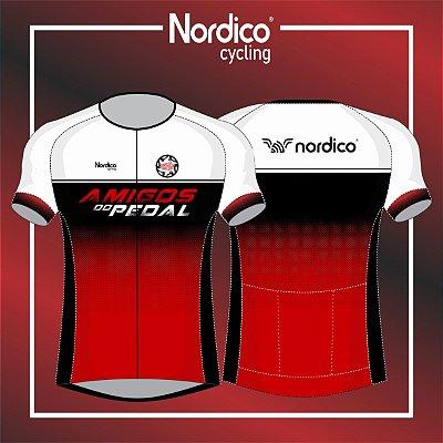 Camisa Ciclismo Nordico Amigos do Pedal Jacareí SP