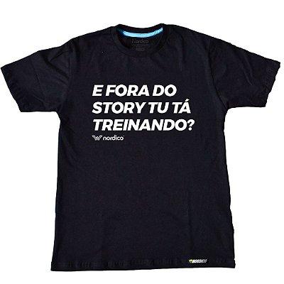 Camiseta Nordico e fora dos Stories você esta treinando ?