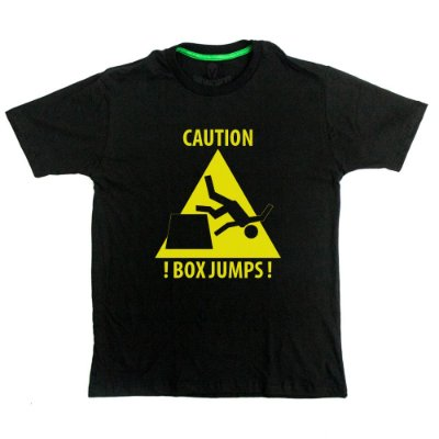 Camiseta Box Jumps Outlet