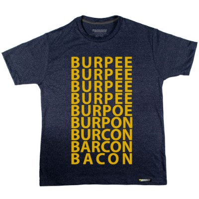 camiseta nordico Bacon Burpee