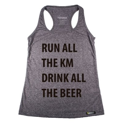 regata feminina run all the km drink all the beer