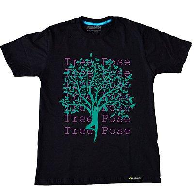 camiseta nordico tree yoga