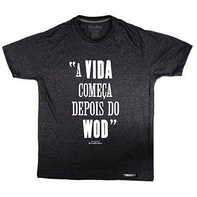 camiseta blackboxhaus a vida começa depois do wod