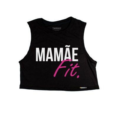 Cropped Mãe mamãe fit