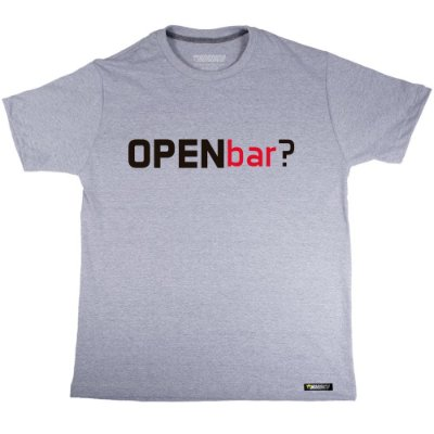 camiseta nordico Open Bar