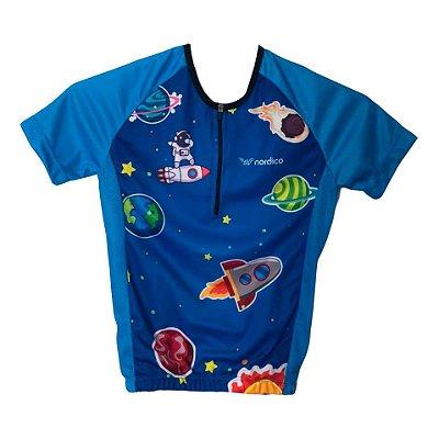 camisa ciclismo infantil astronauta ref 1282