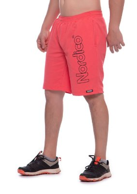 Shorts masculino malha Nordico cor salmão