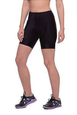 bermuda nordico shorts feminino ciclismo preto