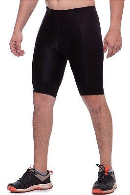 bermuda nordico shorts masculino ciclismo preto