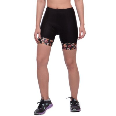 shorts nordico CICLISMO caveira girl mexicana