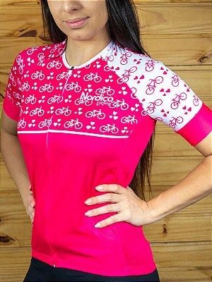camisa feminina nordico ciclismo bikes