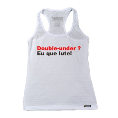 regatinha feminina nordico double under eu que lute