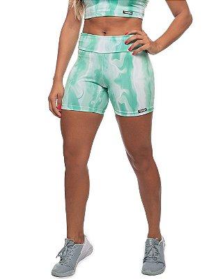 shorts nordico feminino tie Neo Mint
