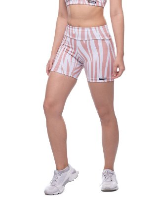 shorts nordico feminino animal cantaloupe