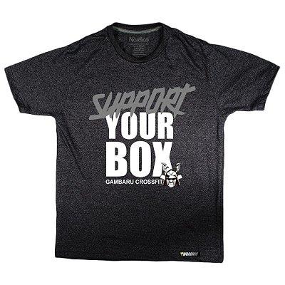 Camiseta support gambaru crossfit