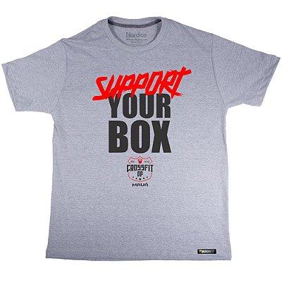 Camiseta support Maua Crossfit