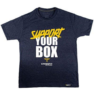 Camiseta support Crossfit ACLIMAÇÃO