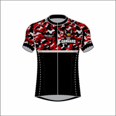 camisa ciclismo gambaru crossfit