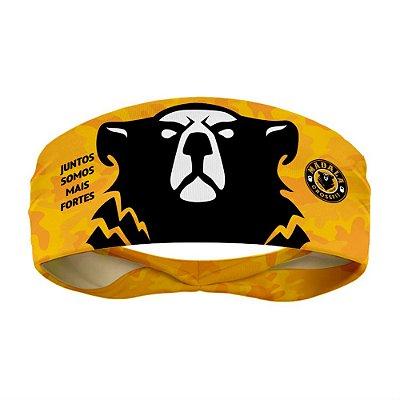 headband madala crossfit yellow