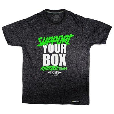 Camiseta support Monster team