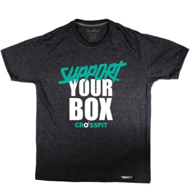 Camiseta support o2 crossfit