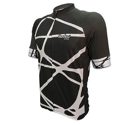 camisa ciclismo nordico teias