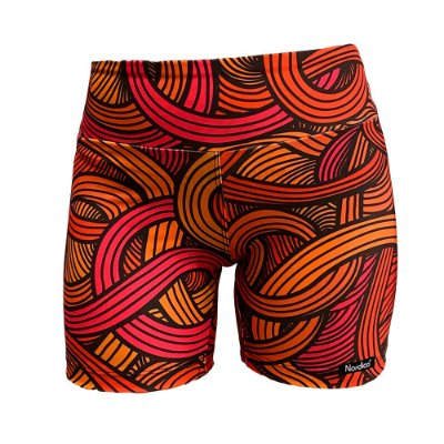 shorts nordico feminino swirls fire