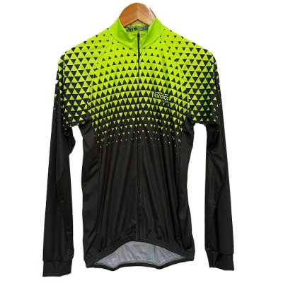 camisa ciclismo manga longa nordico setaverde 1027