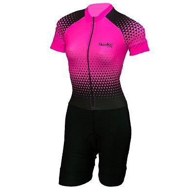 macaquinho ciclismo feminino nordico setarosa ref 1031