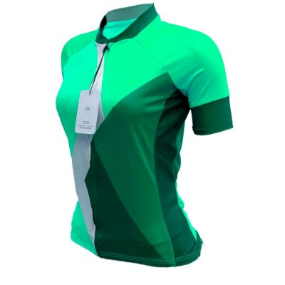 camisa ciclismo feminino nordico esmeraldTHINg REF 1028