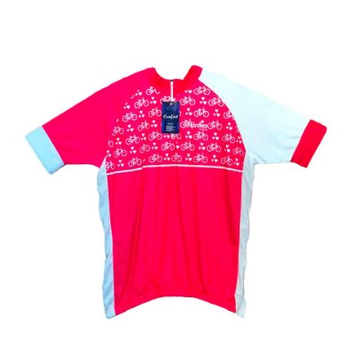 camisa ciclismo feminino nordico bikes plus size zíper curto ref 1231