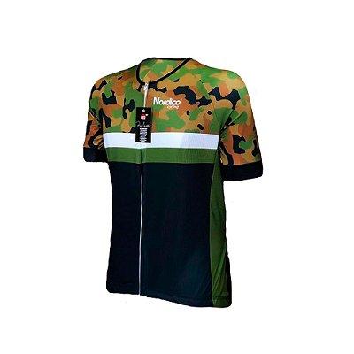camisa ciclismo nordico amazonia master ref 1033