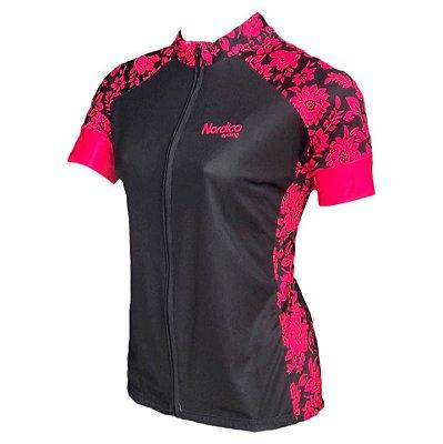 camisa ciclismo feminino nordico sensation ref 1172