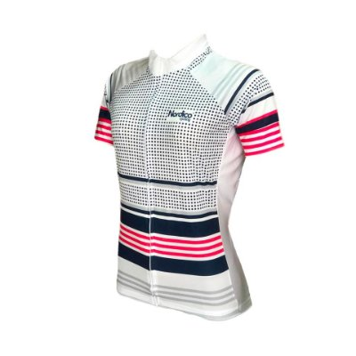 camisa ciclismo feminino nordico paris ref 1205
