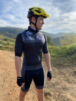 macaquinho ciclismo masculino nordico camuflado black ref 434