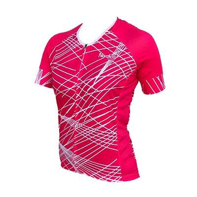 Camisa ciclismo feminino nordico Leni REF 1045