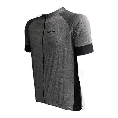 camisa ciclismo nordico basic gray ref 1116