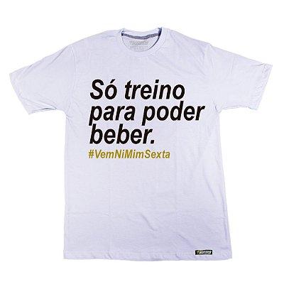 camiseta nordico Só treino para poder beber Outlet