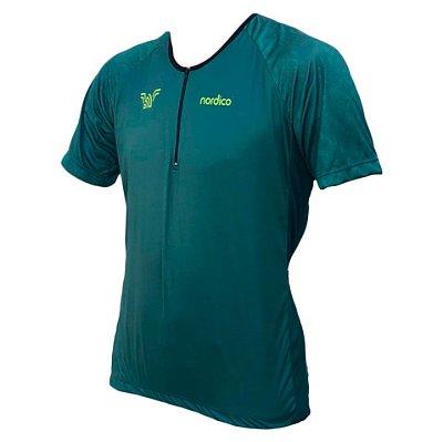 camisa ciclismo iniciante nordico verdão ref 1143