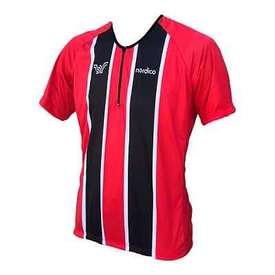 camisa ciclismo iniciante nordico tricolor ref 1149
