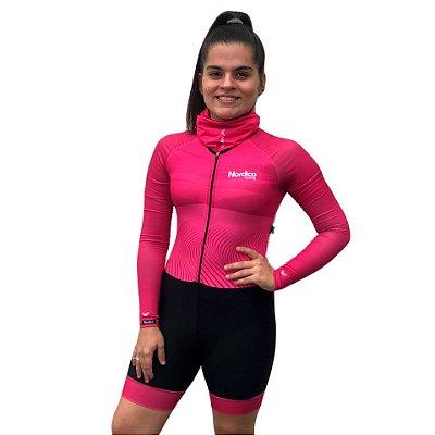 COMBO ciclismo feminino rose ref 1251