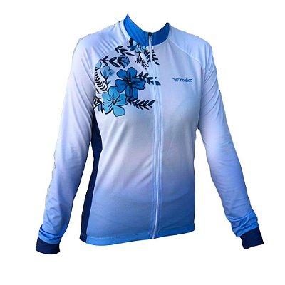 camisa ciclismo feminino manga longa bonsai 1280