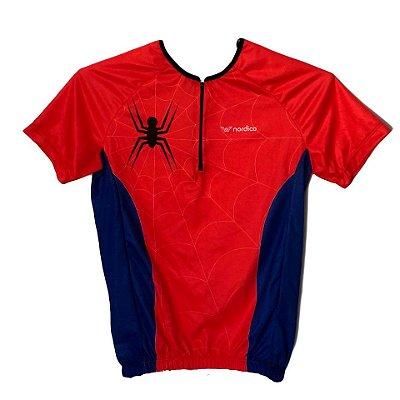 camisa ciclismo infantil spider ref 1285