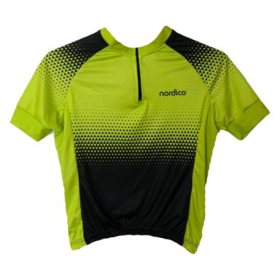 camisa ciclismo infantil setaverde ref 1286