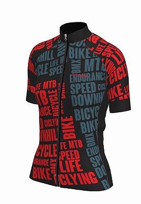 camisa ciclismo feminino Bikelove ref 1274c