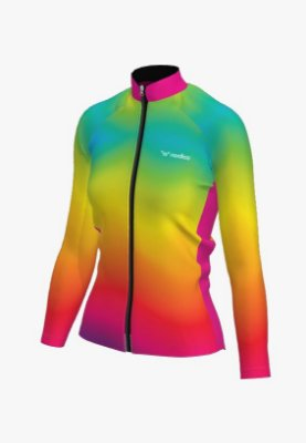 camisa ciclismo feminino manga longa iris 1327 c2
