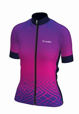Camisa ciclismo feminino nordico tribe ref 1313c