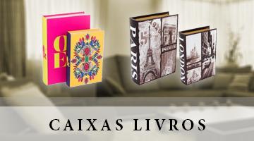 CAIXAS LIVROS