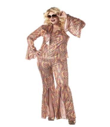 Macacão anos 70 - Feminino